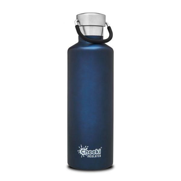 Cheeki 600ml-ocean-insulated water bottle