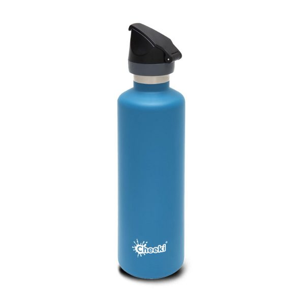 Cheeki 600ml-topaz-insulated water bottle