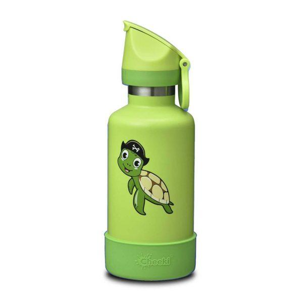 Cheeki 400ml Insulated Kids Bottle (Taj the Turtle)